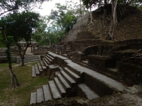 The incredible and extensive ruins at Cahal Pech